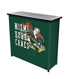 University of Miami Portable Bar - Smoke