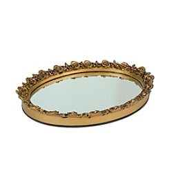 Taymor® Oval Resin Mirror Tray