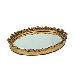Taymor® Oval Resin Mirror Tray