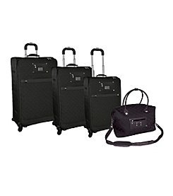 Adrienne Vittadini® Quilted Nylon 4-pc. Luggage Set