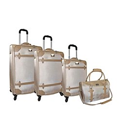 Adrienne Vittadini® Metro 1680 Denier 4-pc. Luggage Set