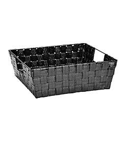 Simplify Black Shining Shelf Tote