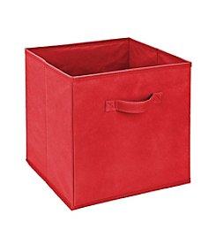 Simplify Red Storage Bin