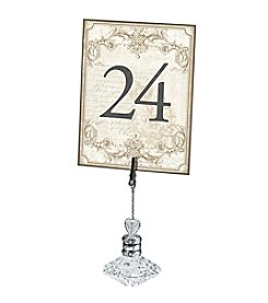 Lillian Rose® Gold Table Numbers 1-24