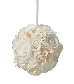 Lillian Rose® Ivory Flower Ball