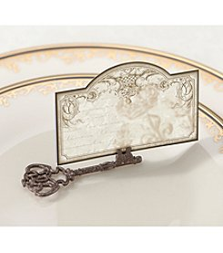 Lillian Rose® Set of Four Key Place Card Holders