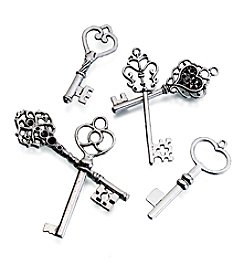 Lillian Rose® Set of 24 Silvertone Keys