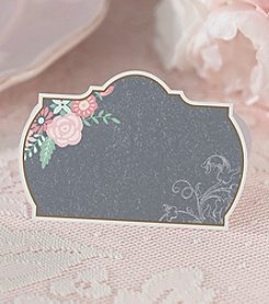 Lillian Rose® Set of 24 Black and Pink Place Cards
