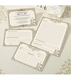 Lillian Rose® Set of 24 Tan Recipe Cards