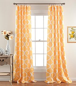 Lush Decor Geo Room Darkening Window Curtain