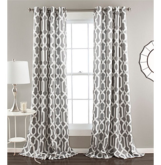 Lush Decor Edward Room Darkening Window Curtain