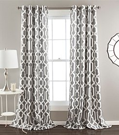 Lush Decor Edward Room Darkening Window Curtain