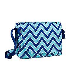 Wildkin Zigzag Lucite Laptop Messenger Bag