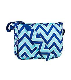 Wildkin Zigzag Lucite Kickstart Messenger Bag