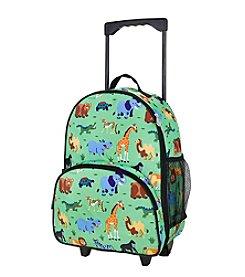 Olive Kids Wild Animals Rolling Luggage