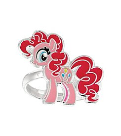 My Little Pony Silver Plated Girls' Pinkie Pie Adjustable Ring