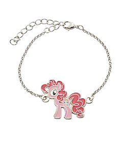 My Little Pony Silver Plated Girls' Pinkie Pie Chain Bracelet