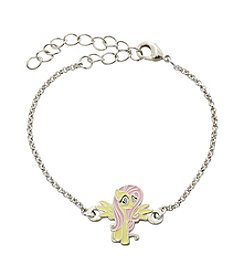 My Little Pony Silver Plated Girls' Fluttershy Chain Bracelet