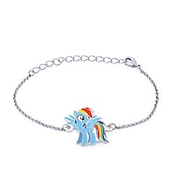 My Little Pony Silver Plated Girls' Rainbow Dash Chain Bracelet