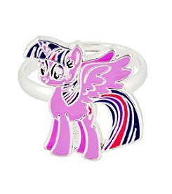 My Little Pony Silver Plated Girls' Twilight Sparkle Adjustable Ring