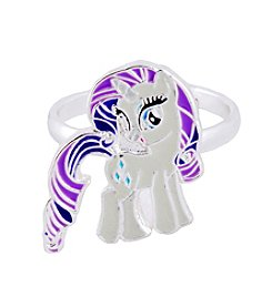My Little Pony Silver Plated Girls' Rarity Adjustable Ring