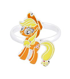 My Little Pony Silver Plated Girls' Apple Jack Adjustable Ring