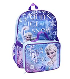 Disney® Frozen Snow Queen Backpack with Lunch Pack