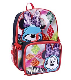 Disney® Minnie Mouse Backpack with Lunch Pack