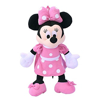 Disney® Minnie Mouse Dress Plush Backpack