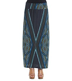 Notations® Printed Slim Skirt