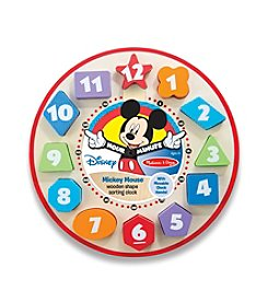 Melissa & Doug®  Mickey Mouse Sorting Clock