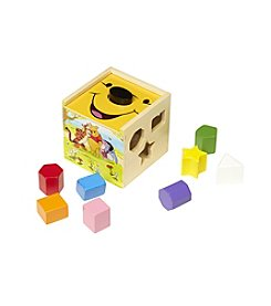 Melissa & Doug®  Winnie The Pooh Sorting Cube