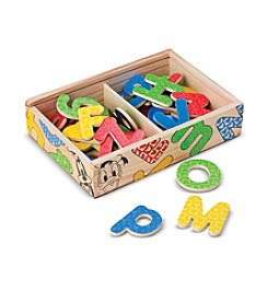 Melissa & Doug®  Mickey & Friends Wooden Alphabet Magnets