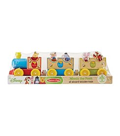 Melissa & Doug®  Winnie The Pooh Wooden Train