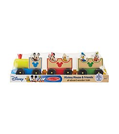 Melissa & Doug®  Mickey & Friends Wooden Train