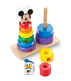 Melissa & Doug®  Mickey Mouse & Donald Duck Wooden Stacker