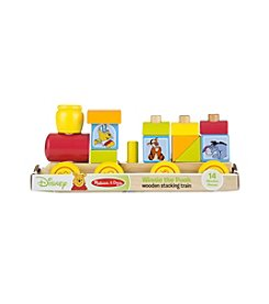 Melissa & Doug®  Winnie The Pooh Wooden Stacking Train
