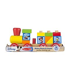 Melissa & Doug®  Mickey Mouse & Friends Wooden Stacking Train