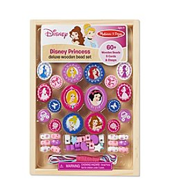 Melissa & Doug®  Disney Princess Deluxe Wooden Bead Set