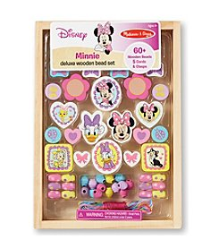 Melissa & Doug®  Minnie Deluxe Wooden Bead Set