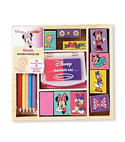 Melissa & Doug® Minnie Wooden Stamp Set