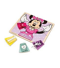 Melissa & Doug®  Minnie Wooden Basic Skills Board