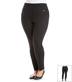 Calvin Klein Plus Size Wide Waist Legging