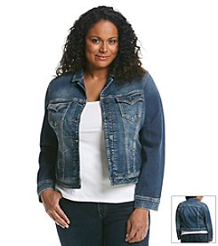 Silver Jeans Co. Plus Size Joga Jacket