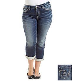 Silver Jeans Co. Plus Size Suki Capri Jeans