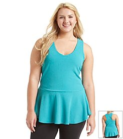 Jessica Simpson Plus Size Raleigh Halter Top