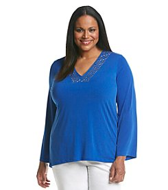 MICHAEL Michael Kors® Plus Size Embellished Tunic