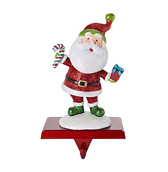 LivingQuarters Santa Stocking Holder plus size,  plus size fashion plus size appare
