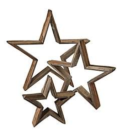 Ruff Hewn Wooden Star
