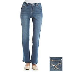 Earl Jean® Lite Stitch Back Pocket Bootcut Jeans
